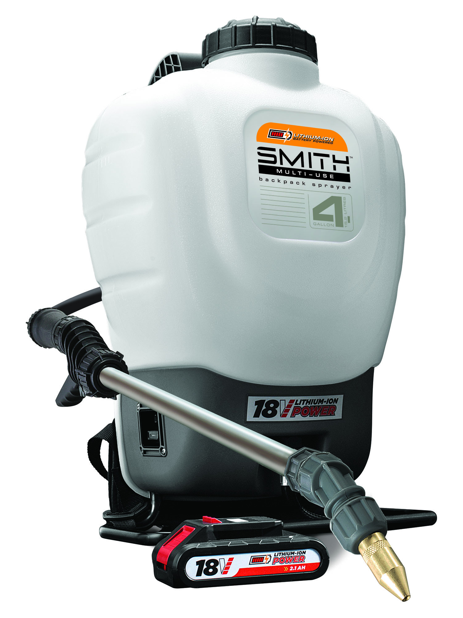 Smith Multi-Use 18V Lithium-ion Powered Backpack Sprayer, Model 190576