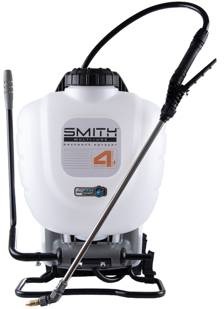 Smith Multi-Use 4 Gallon No-Leak Backpack Sprayer, Model 190670