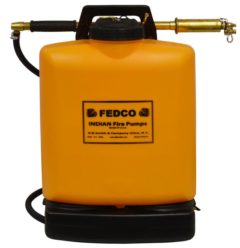 Fedco FER501 Poly Tank Fire Pump with Fedco Pump; 5-Gallon