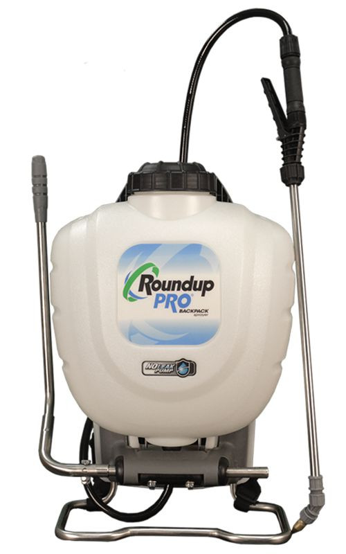 Roundup Pro® 190413 Stainless Steel No-Leak Pump Backpack Sprayer