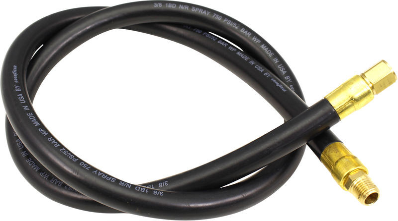 Smith Performance™ 182891 Nylon Lined; Synthetic Fiber Reinforced Rubber Hose with Brass Fittings