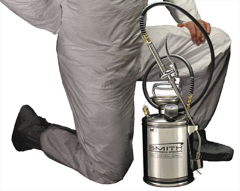 Smith Performance™ S100 1-Gallon Stainless Steel Compression Sprayer for Pest Control