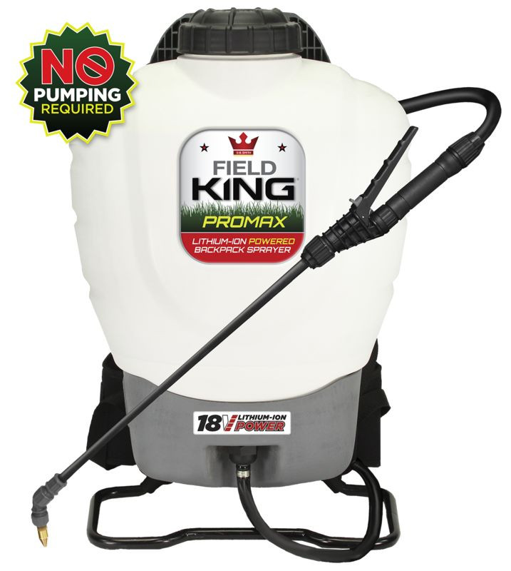 Field King® 190515 Lithium Ion Powered Backpack Sprayer