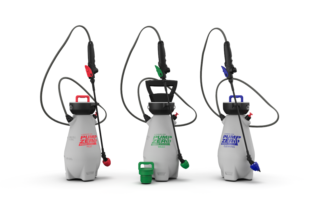 Pump Zero™ Lithium-ion Battery Powered Three Sprayer System