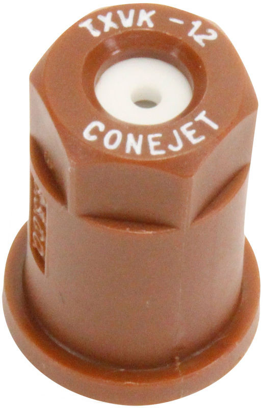 Smith Performance Sprayers 182941 #12 Brown Poly Conical Nozzle Tip with Ceramic Insert:  .20 GPM- 80° FAN; TXVK12