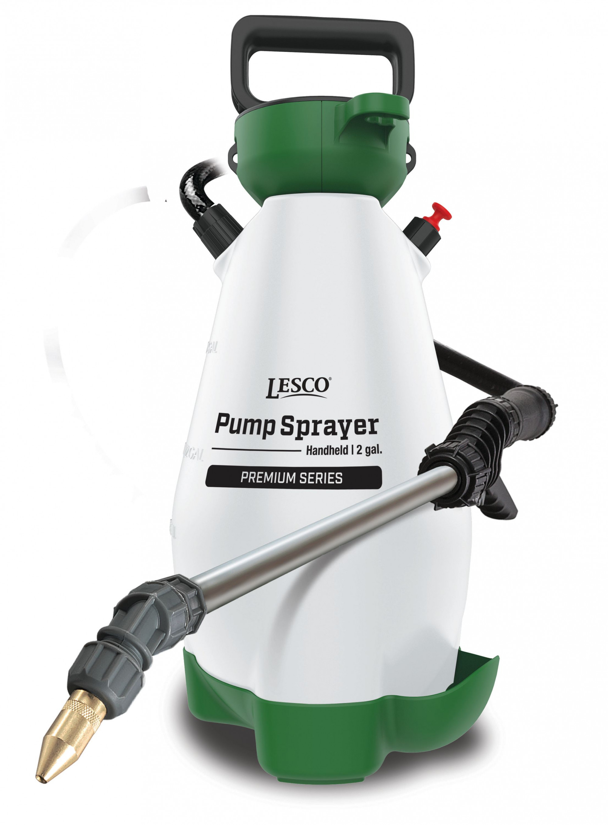 LESCO® Pump Sprayer Handheld, 2 Gal, Premium Series, Model 190596