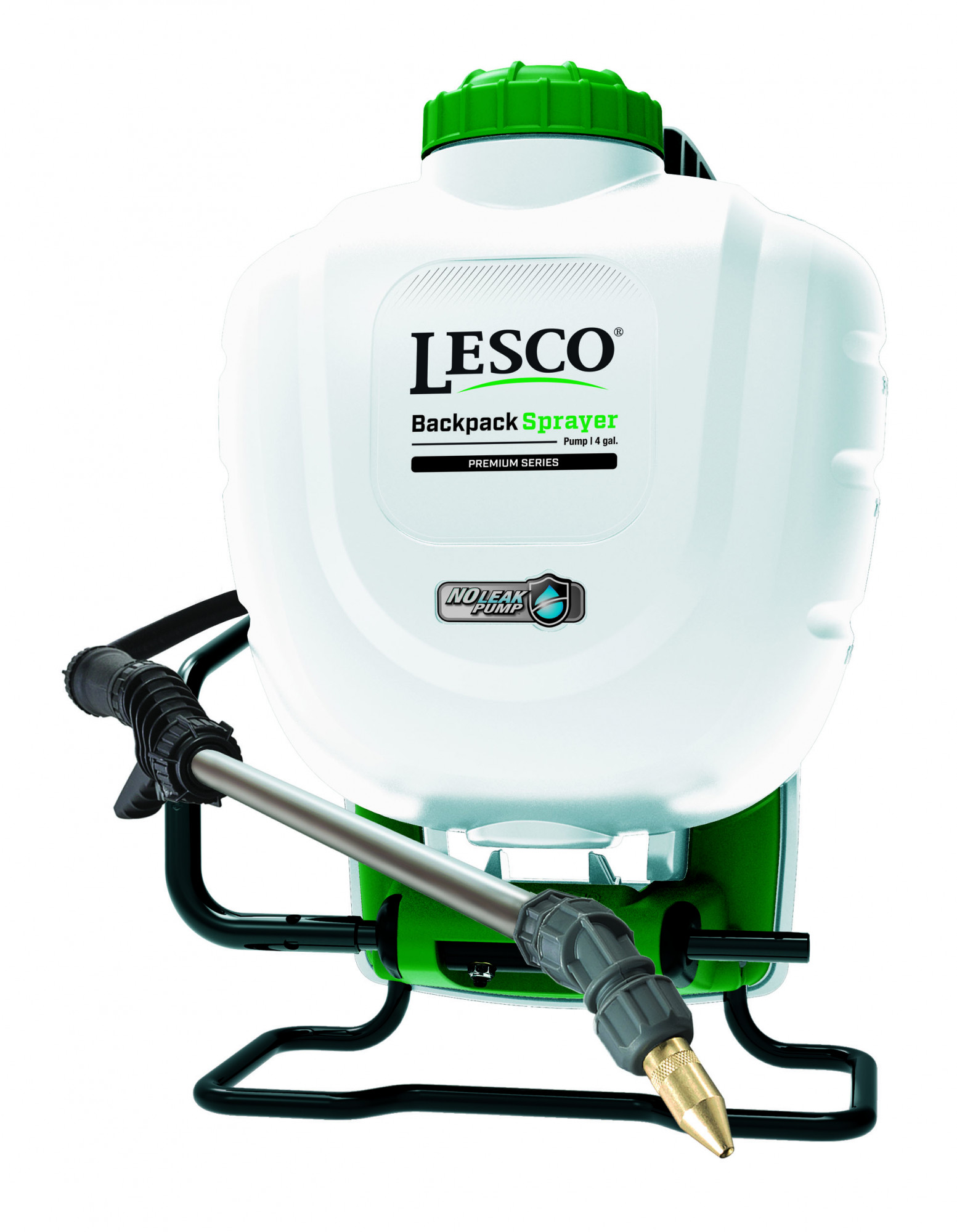 LESCO® Backpack Pump Sprayer, 4 Gal, Premium Series, Model 190344